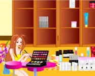 Make up store decoration online