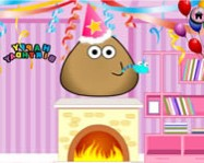 Pou birthday party online